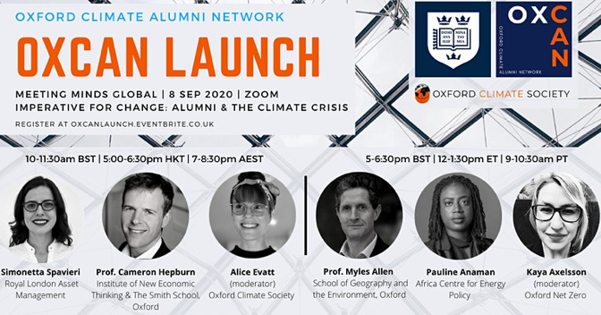 Oxford Climate Alumni Network